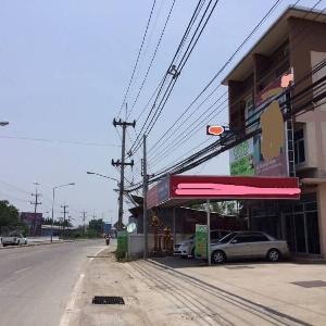 รหัส KRB8750 ตึกสองคูหาติดถนนใหญ่